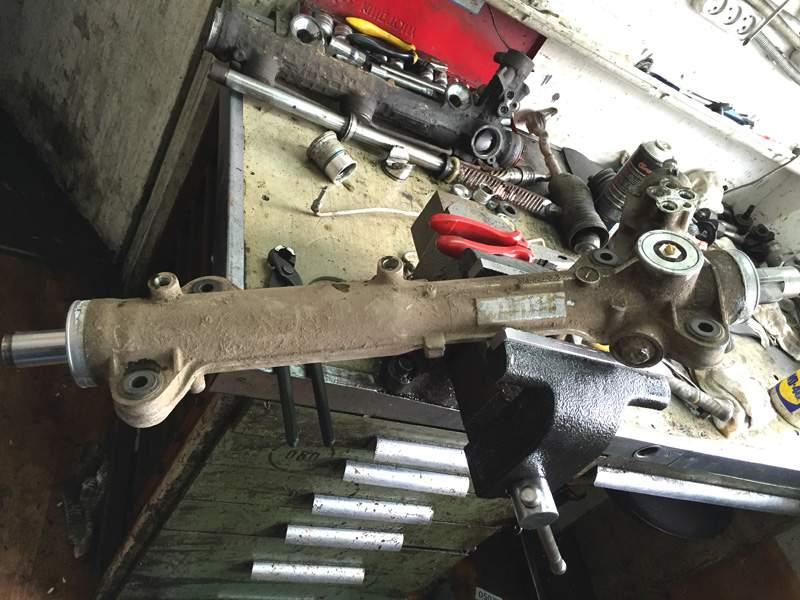 ремонт рулевой рейки мерседес 163